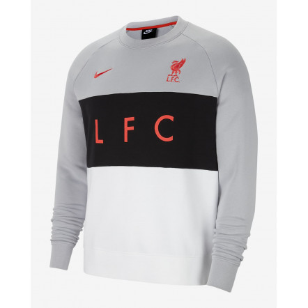 Кофта Nike Liverpool FC Air Fleece Crew CZ3424-012