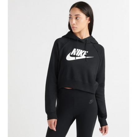 Жіноча толстовка Nike Essential Crop Hoodie CJ6327-010