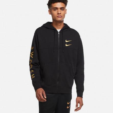 Кофта Nike Swoosh Full-Zip Hoodie DC2582-010