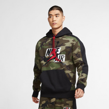 Кофта Jordan Jumpman Camo Air Fleece