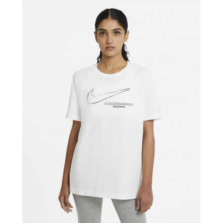 Жіноча футболка Nike Swoosh Tee DB9811-100