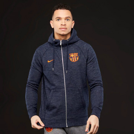 Кофта Nike FC Barcelona 17/18 NSW Hoody FZ FT Authentic 886697-473