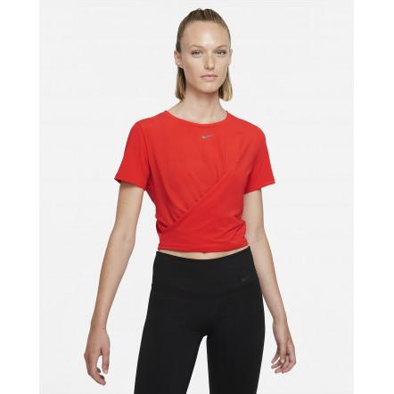 Жіноча футболка Nike Dri-FIT One Luxe Twist Standard-Fit Short-Sleeve Top DD4921-673