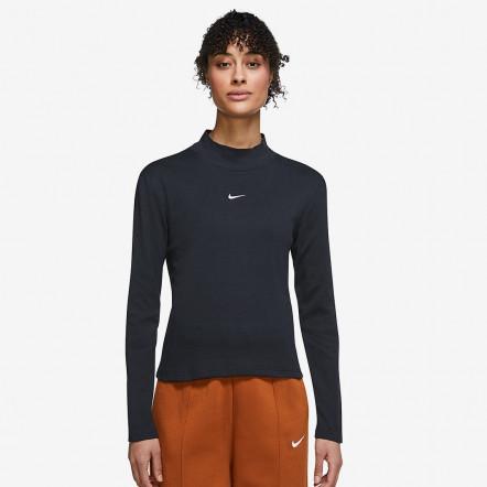 Жіноча футболка Nike Sportswear Essential Mock Long-Sleeve Top DD5882-010