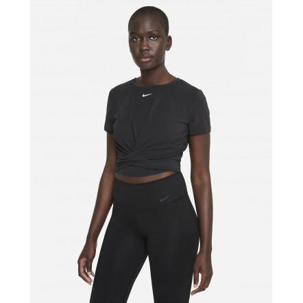 Жіноча футболка Nike Dri-FIT One Luxe Twist Standard-Fit Short-Sleeve Top DD4921-010