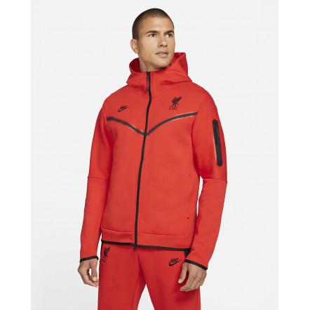 Кофта Nike Sportswear Liverpool FC Tech Fleece Hoodie DD9716-612