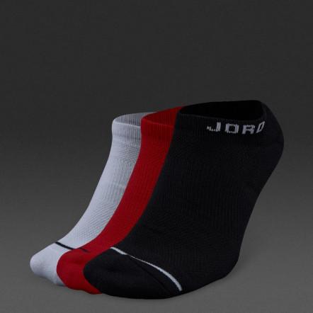 Носки повседневные Nike Jordan Jumpman No-Show 3Ppk