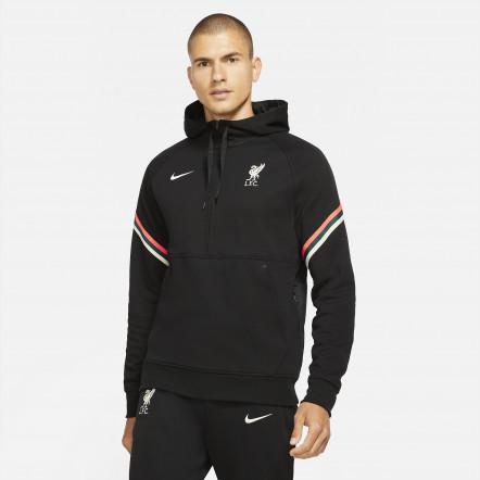 Кофта Nike Liverpool FC Travel Fleece Hoodie DA9766-010