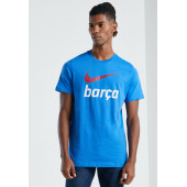 Футболка Nike FC Barcelona Swoosh Club Tee DB4811-403