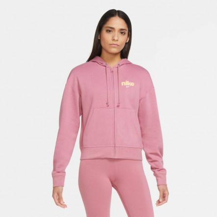 Жіноча толстовка Nike Full Zip Fleece Varsity Hoodie CU5056-614