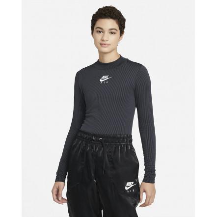 Жіноча футболка Nike Air LongSleeve Mock Ribbed CZ8634-010