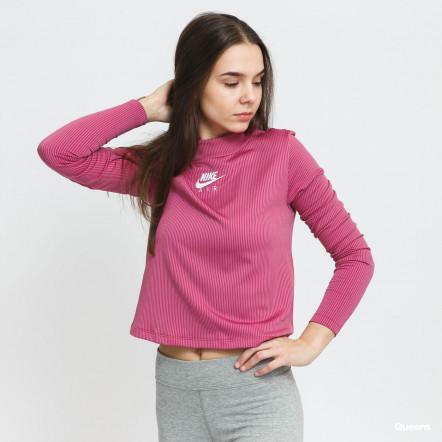 Жіноча футболка Nike Air LongSleeve Mock Ribbed CZ8634-531