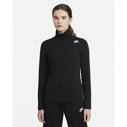 Жіноча футболка Nike Sportswear LongSleeve Mock Top DD3609-010