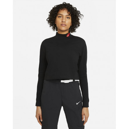 Жіноча футболка Nike Tee LongSleeve Mock DB9735-010