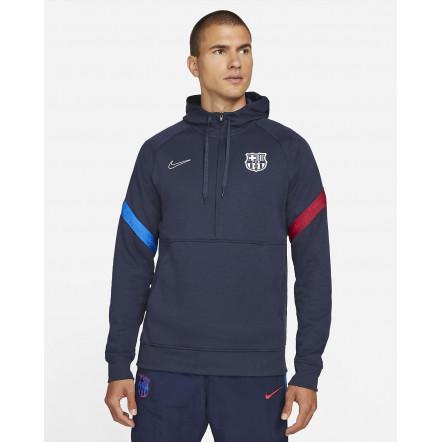 Кофта Nike FC Barcelona Travel Fleece Hoodie CV9940-451