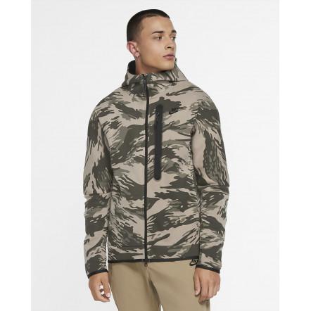 Кофта Nike Sportswear Tech Fleece Hoodie All Over Print