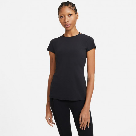 Жіноча футболка Nike Dry-FIT Luxe Infinalon S/S Top DC5257-010