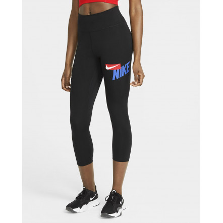 Жіночі лосіни Nike One Crop Graphic Tights CZ9202-011