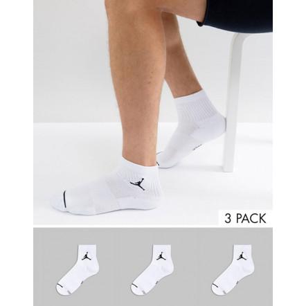 Шкарпети повсякденні Nike Jordan Jumpman Quarter SX5544-100