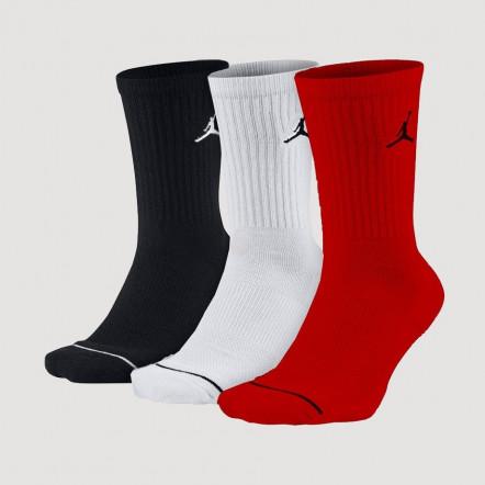 Шкарпети повсякденні Jordan Jumpman Crew Socks 3 Pack